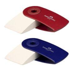 Faber-Castell Stěrací pryž , Sleeve Mini, 2 druhy - červená/modrá