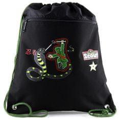 Scout Cserkész sporttáska, Cserkész Sportbeutel Ninja kígyó