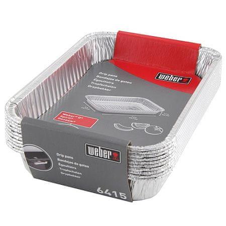 WEBER Alumínium tálak, kicsi, 10 db , kicsi, 10 db