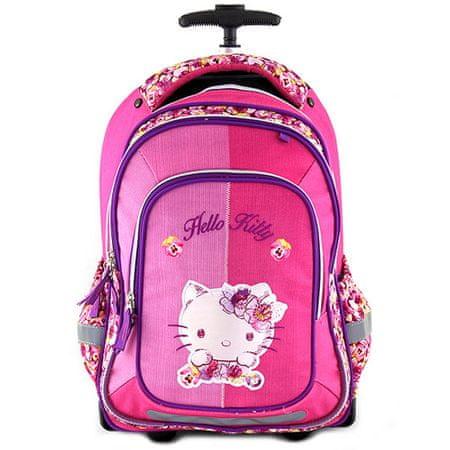 Target Célzott iskolai hátizsák kocsi, Hello Kitty macska aplikáció