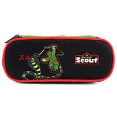 Scout Školní penál , horní klopa, Ninja a had