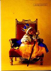 Anne Geddes Blahopřání , královna na křesle