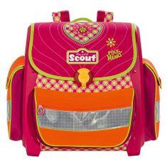 Scout Školní aktovka , motiv srdce, Basic