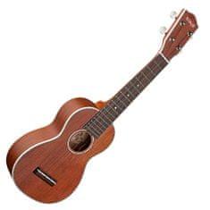 Stagg Sopránové ukulele , prírodný matný lak