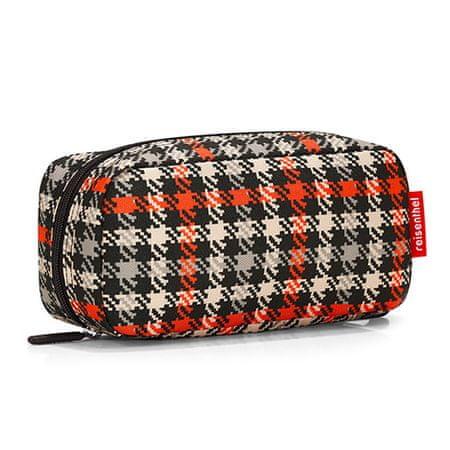 Reisenthel kozmetikai táska, Fekete és piros, az ötvenes évek motívumával multicase