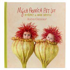 Anne Geddes Kniha Mých Prvních Pět Let, vlčí máky
