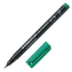 Staedtler Popisovač , zelený, permanentný, šírka hrotu 0,6 mm