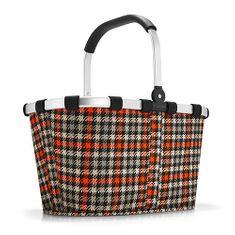 Reisenthel Nákupní košík , Černo-červený s motivem padesátek   carrybag