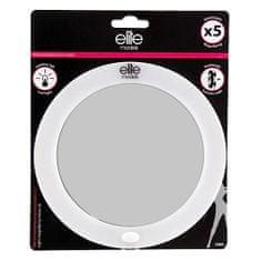 Elite Models Zrkadlo s LED osvetlením , s prísavkami, priemer 16 cm