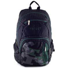 Target Ciljni nahrbtnik, črna in zelena