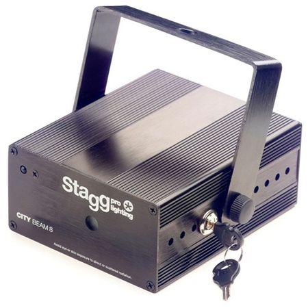 Stagg Laser , Laser CITY 140mW Jeden wymiar, czarny