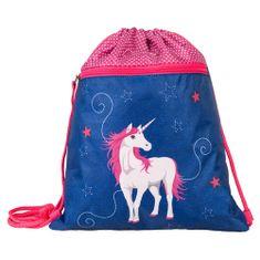 Target Ciljna športna torba, Samorog, roza-modra