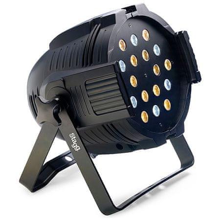 Stagg reflektor, 18x3W, hideg / meleg fehér
