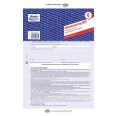 Avery Zweckform Nájemní smlouva DE , 2875 pro pronájem bytů a domů, A4, 5 stranná