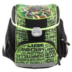 Target Cél iskolai táska, Ninja teknősök, zöld-fekete