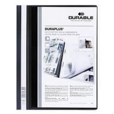 Durable Dosky s rýchloviazačom , Duraplus, A4, čierne