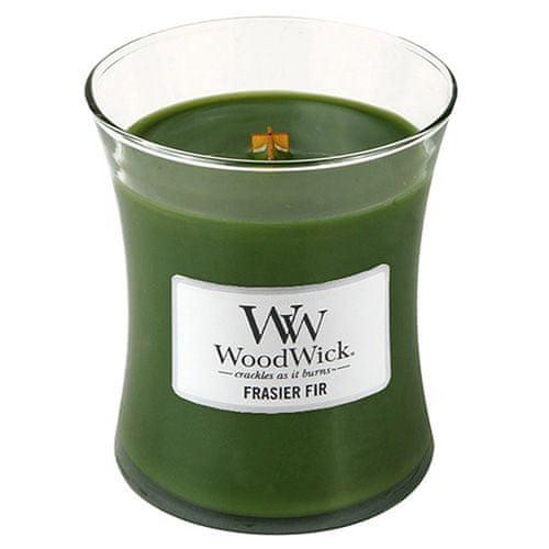 Woodwick Sviečka oválna váza , Jedľa, 275 g