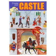 Create Your Kifestőkönyv, kreatív készlet Készítse el az ASST-t, Kakasülő