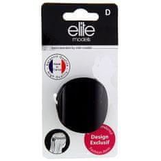 Elite Models Skřipec do vlasů , černý, šíře 3,5cm
