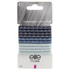 Elite Models Hajgumik laposak 10 db , Kék, átmérője 70mm