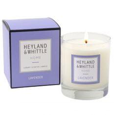 Heyland & Whittle Svíčka skleněná váza , Levandule, 220 g