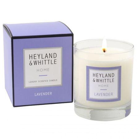 Heyland & Whittle Świeca szklana waza , Lawenda, 220 g