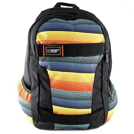 Target Cél sport hátizsák, színes csíkokkal