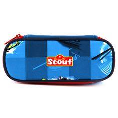 Scout Školní penál , elipsovitý, motiv vrtulník, Basic