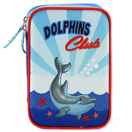 Target Iskolai ceruza tok cél kitöltéssel, Dolphins Club, kék színű