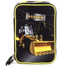 Target Šolska svinčnica s polnilom , Nevarni buldožer, barva črna