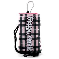 Hello Kitty Pouzdro na mobil , růžovo-černé
