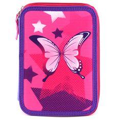 Target Šolska svinčnica s polnilom , Metulj, barva roza-vijolična