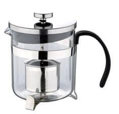 Renberg Konvička na čaj s čajítkem nerez 600 ml