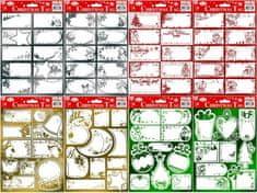 IMPAP, jmenovky na dárky 21x29,3cm