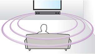 Wirtualny dźwięk przestrzenny z Philips TAPB603 / 10