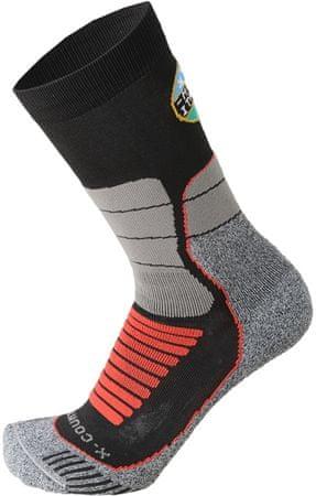 Mico nogavice za smučanje Medium W. Official Ita X-C Ski Socks Nero, L