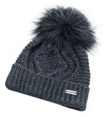 Capu Zimná čiapka 385-B Dark Grey