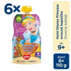 Hami Disney Princess ovocná kapsička Ovocný koktail 6 x 110 g