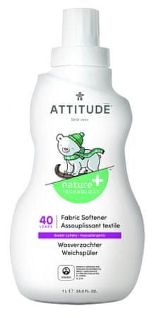 Attitude mehčalec za otroška oblačila z vonjem Sweet Lullaby, 1000 ml