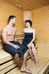 MaryBerry Dárkový set dámský a pánský černý kilt do sauny | MaryBerry