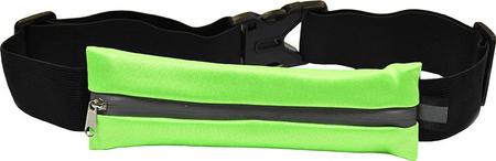 Torbica za trčanje s reflektivnom trakom, zelena