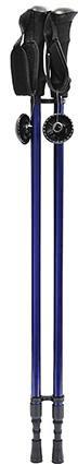 Berg 2SC štapovi za hodanje 135 cm, crni/plavi