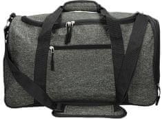 Berg Hagen športna torba, siva/črna