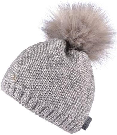 Capu Czapka zimowa z pomponem Grey 369-B