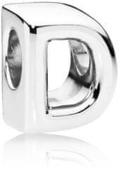 """Pandora Ezüst gyöngy """"D"""" 797458 ezüst 925/1000"""