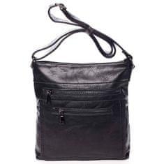 Romina & Co. Bags Dámská koženkový crossbody Lucy černá
