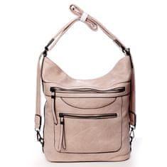Romina & Co. Bags Veľká pohodlná koženková kabelka Samantha, ružová