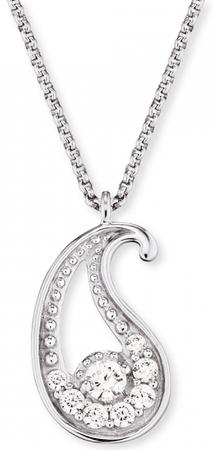 Engelsrufer Minibalancia ezüst nyaklánc cirkóniummal ERN-LILBAL-ZI ezüst 925/1000
