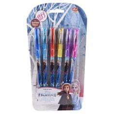 Frozen Roler Glitter set kemičnih svinčnikov z bleščicami, 6 kosov