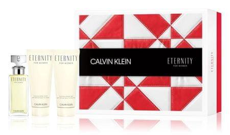 Calvin Klein Eternity - EDP 50 ml + tělové mléko 100 ml + sprchový gel 100 ml